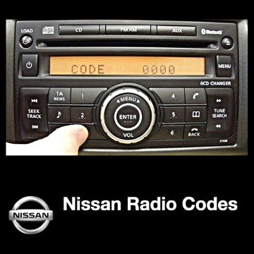 NISSAN RADIO CODE CLARION STEREO UNLOCK CODES ALL MODELS PIN CODE